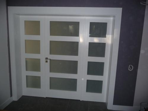Drzwi z doświetlami