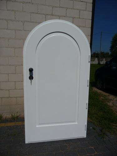 Drzwi zewnętrzne MINI w łuku nr Z 69