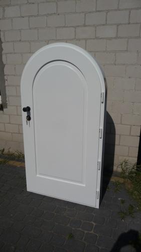 Drzwi zewnętrzne MINI w łuku nr Z 70